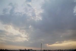 「空の重さ」Nikon FE2 / Mir-24N / Portra160NC / (C) keita NAKAYAMA